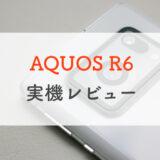 【実機レビュー】AQUOS R6の1インチセンサーカメラでたくさん撮ってみた【ドコモ】